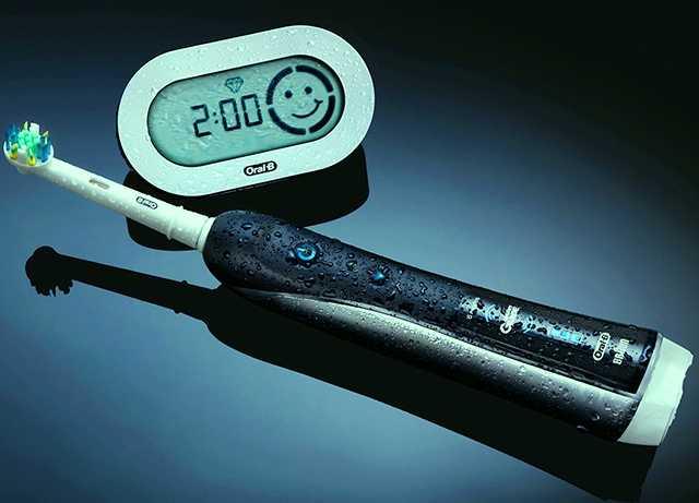 Таймер электрической зубной щетки