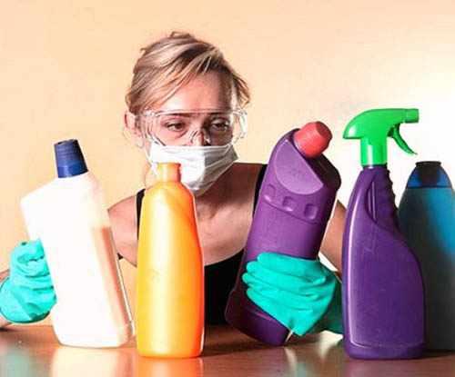 Чем опасна бытовая химия