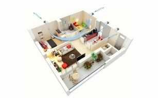 Квартира 49м2. Бюджетная вентиляция в квартире с помощью бытовых рекуператоров