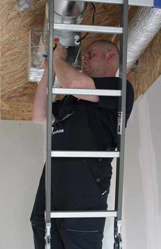 Монтаж вентиляционной установки в доме