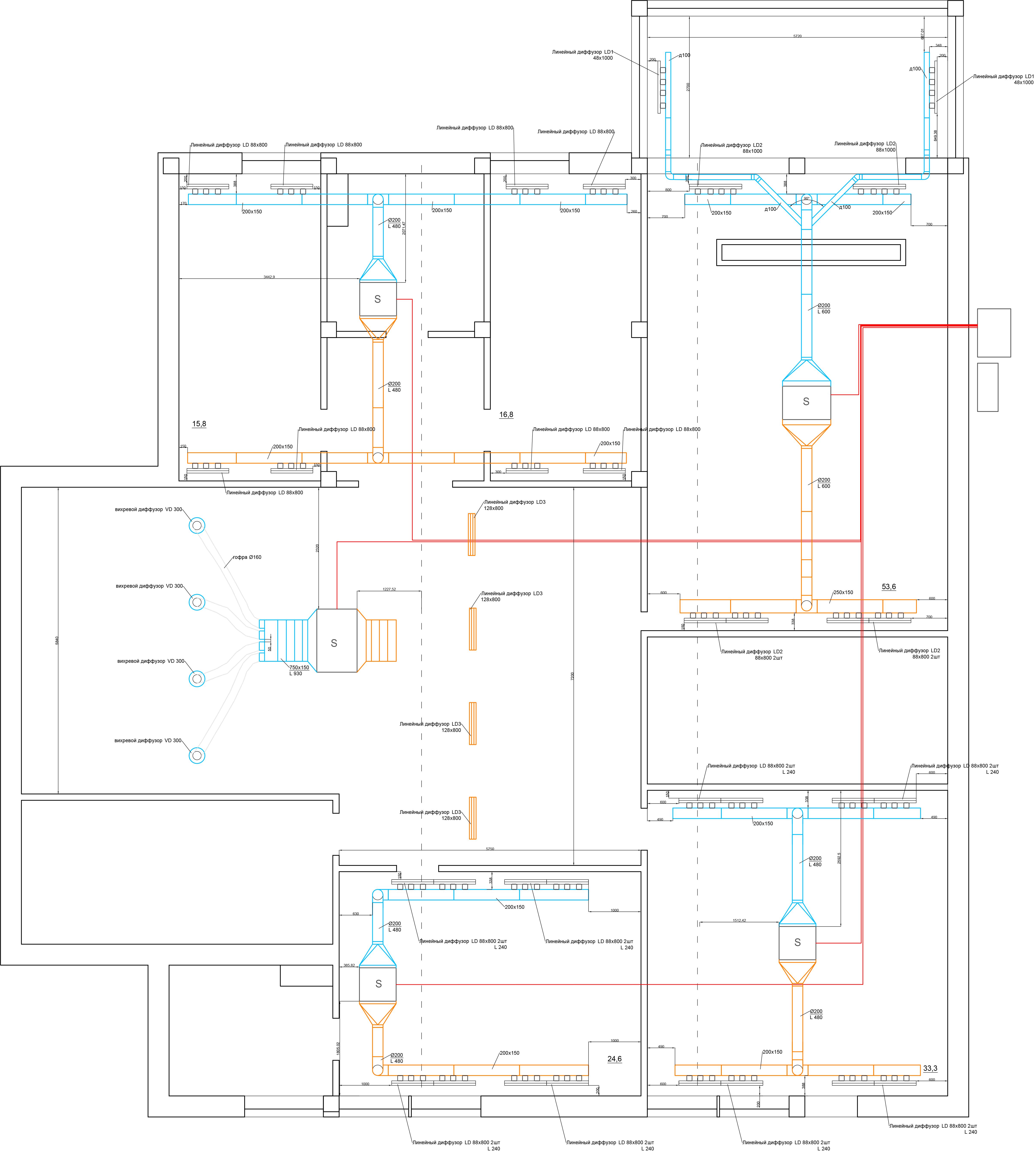 Проект системы кондиционирования для дома