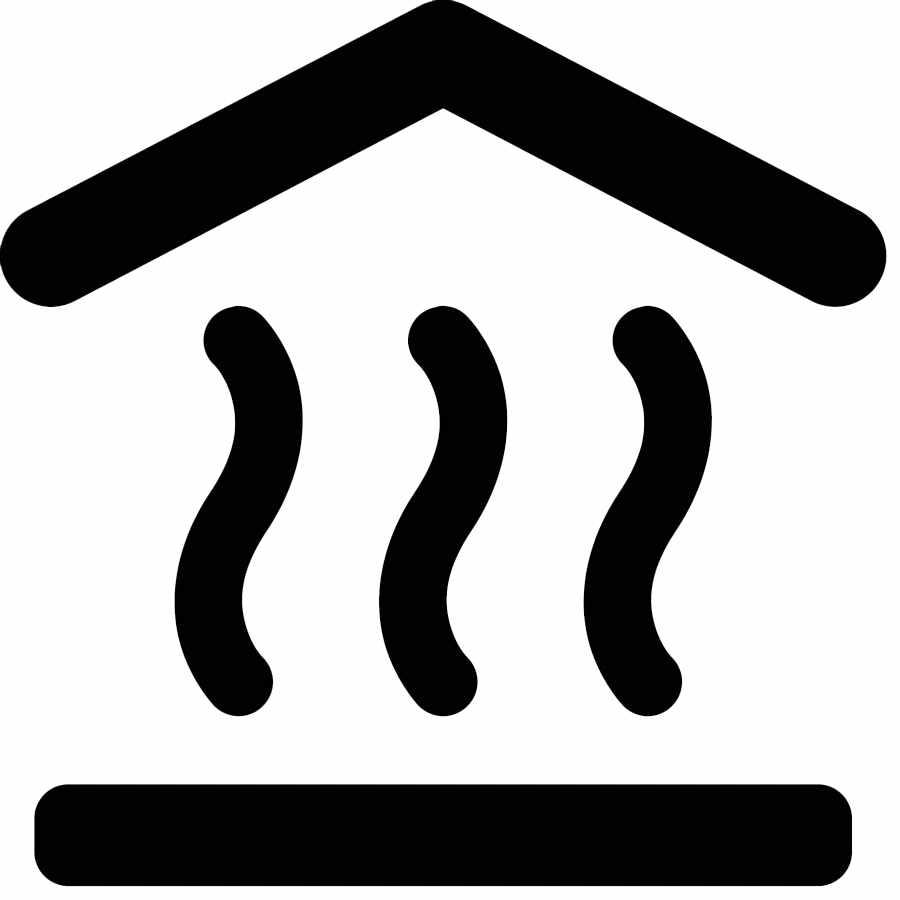 Тепловой насос иконка