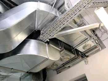 пример системы вентиляции и кондиционирования в офисе