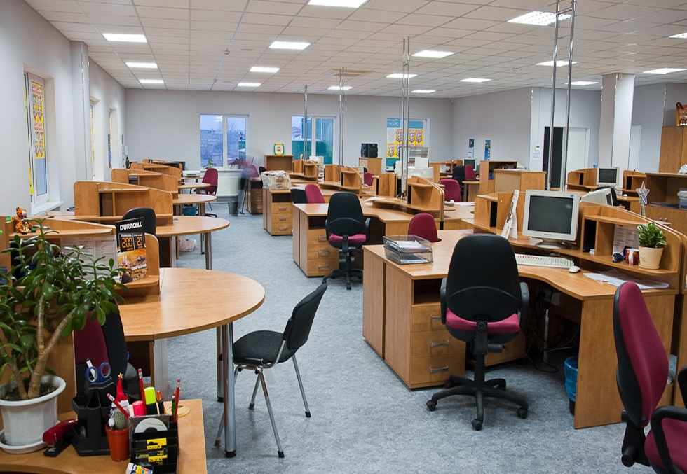 Офис 625 м2. Система вентиляции, кондиционирования и отопления
