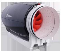 Бесшумный вентилятор канальный Hon&Guan серии HDD