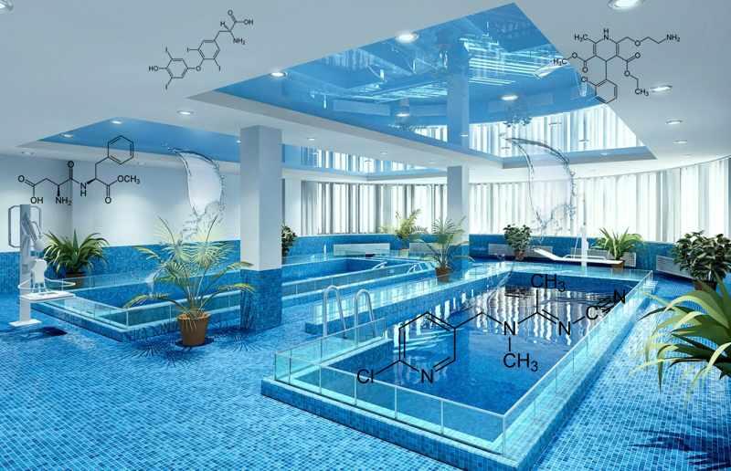 Вентиляция помещения с бассейном