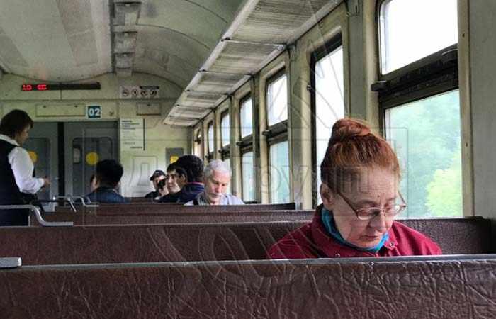 Обработка пассажирских поездов