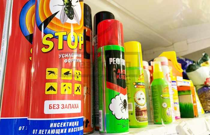 Химические методы борьбы с насекомыми-вредителями - средства