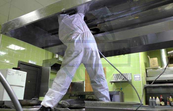 Профессиональная чистка вытяжек от жира