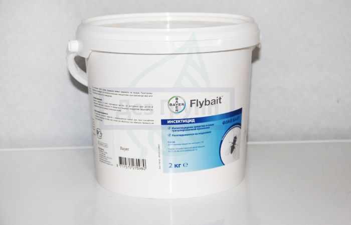 Флай байт (Flybait) - эффективный препарат от мух