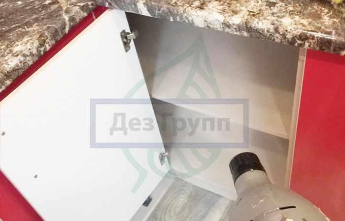 Дезинсекция чешуйниц на кухне и других влажных помещениях