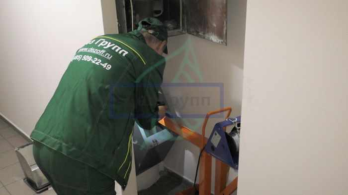 Дезинфекция мусоропровода - заказать услугу в Москве