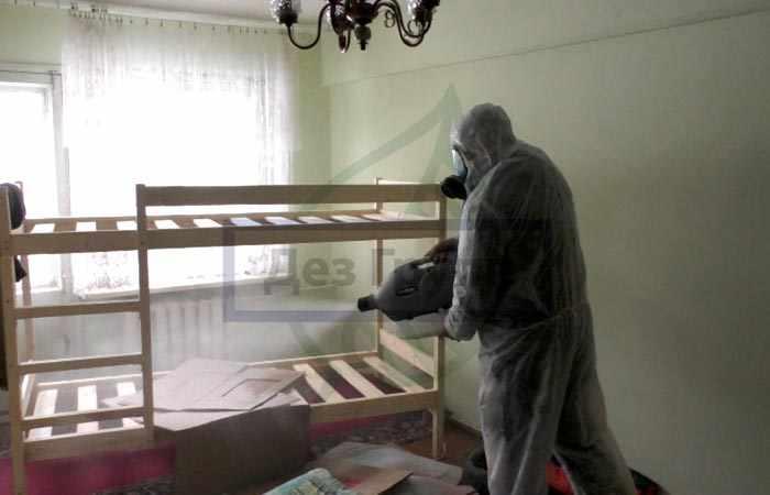 Обработка квартир от клопов и тараканов с гарантией результата