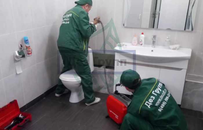 Профессиональная промывка канализации