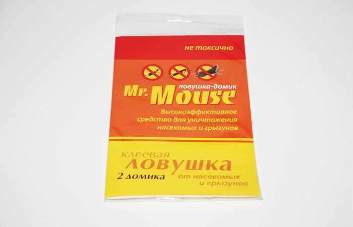 Mr Mouse - эффективная клеевая ловушка для ловли насекомых