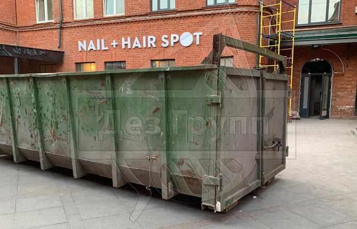 Мойка дезинфекция мусорных контейнеров в Москве