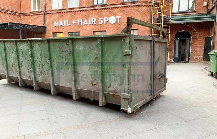 Дезинфекция мусорных контейнеров в Москве