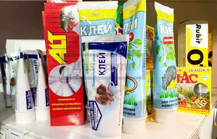 Химические препараты для борьбы с грызунами
