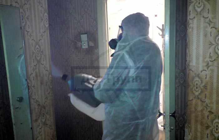 Дезинфекция помещения после пребывания в нём больного туберкулезом