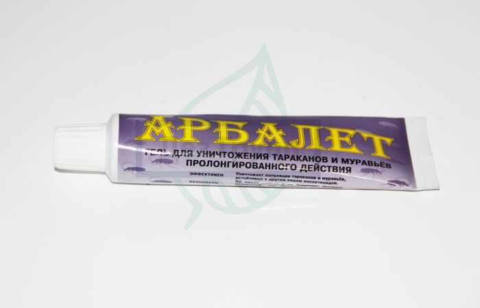 Арбалет гель от тараканов и муравьев - эффективное средство избавления