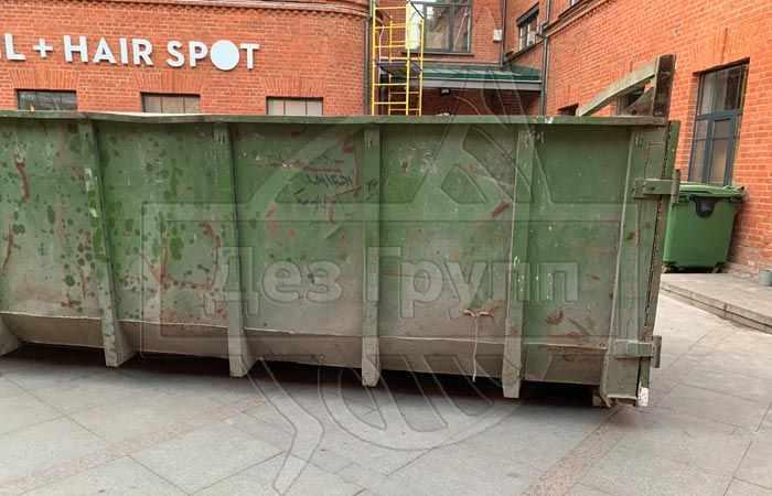Дезинфекция мусорных контейнеров, средство