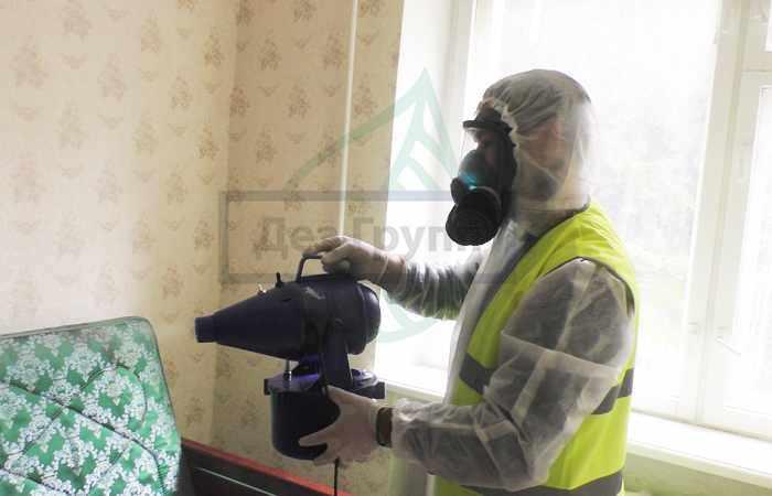 Дезинфекция от клопов в городе Химки горячим и холодным туманом