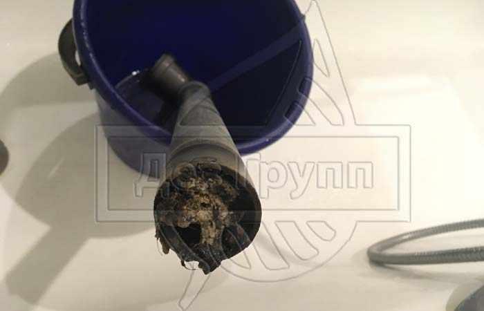 Прочистка канализации от сложных засоров