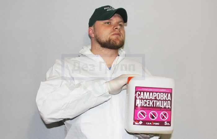 «Самаровка-инсектицид» - быстродействующее средство от комаров