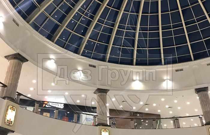 Стоимость обработки торгового центра в Москве